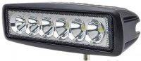 Pracovní světlo LED 10-30V/18W. Matné sklo.