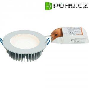 Vestavné světlo LED Downlight, 9,8 W, 42x LED