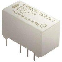 Relé do DPS Omron G6S-2 12 VDC, 12 V/DC, 2 A, 2 přepínací kontakty, 1 ks