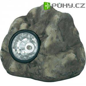 Zahradní balvan s LED světlem Basetech PE211B