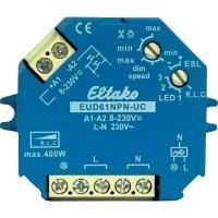 Stmívač na omítku, stmívač pod omítku Eltako EUD61NPN-UC, modrá