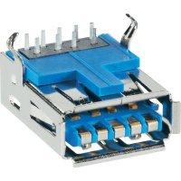 USB konektor 3.0 vestavný do DPS BKL Electronic 10120290, zásuvka Typ A