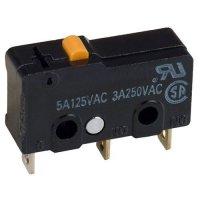 Mikrospínač ON-ON 1pol.250V~/5A Omron SS-5 (MSW-22)