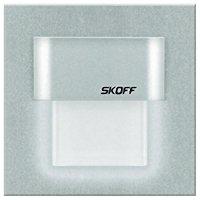 Vestavné LED osvětlení SKOFF Tango Mini, 10 V, 0,4 W, studená bílá, hliník