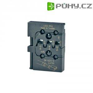 Krimpovací čelisti k plochým dutinkám Pressmaster, 0,50-1,0/1,5-2,5/4,0-6,0 mm²