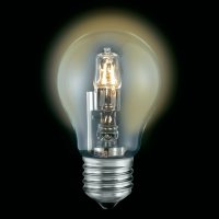 Halogenová žárovka Sygonix, E27, 52 W, 94 mm, stmívatelná, teplá bílá