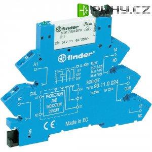 Patice s tažnou pružinou Finder 93.51.0.024 pro lištu DIN