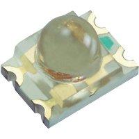 SMD LED Kingbright, KPBD-3224SURKSYKC, 20 mA, 1,95 V, 20 °, 400 mcd, červená/žlutá