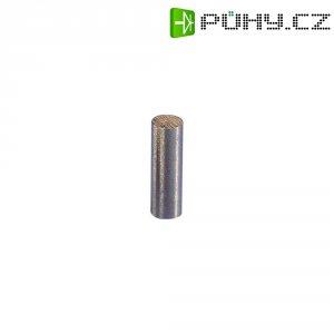 Permanentní magnet tyčový (Ø x d) 6 mm x 24 mm, AlNiCo