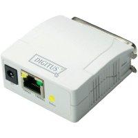 Printserver, paralelní konektor (IEEE 1284), LAN (10/100 Mbit/s), DN-13001-1