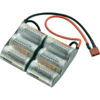 Akupack NiMH (modelářství) Conrad energy, 7.2 V, 4000 mAh, T zásuvka