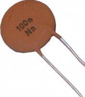 100n/12,5V TK682, keramický kondenzátor
