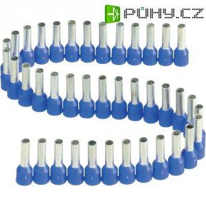 Dutinka v pásce s plastovým límcem Vogt Verbindungstechnik 460508.00050, 2,5 mm², 8 mm, modrá