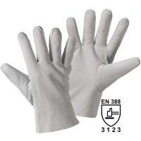 Pracovní kožené rukavice, velikost 8