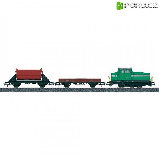 Startovací sada H0 nákladního vlaku a dieselovky DHG 500 Märklin World 29162 - Kliknutím na obrázek zavřete