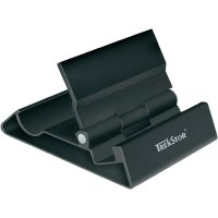 Hliníkový stojánek Trekstor pro tablet, smartphone, eBook, černý