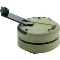 Úsporná akumulátorová svítilna Ampercell Monica, nabíjení dynamem, olivově zelená