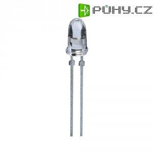 LED dioda kulatá s vývody Avago Technologies, 30 mA, 5 mm, 1,98 V, 8 °, 9300 mcd, oranžová, HLMP-EJ08-Y2000