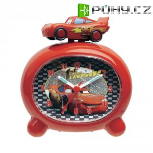 Dětský budík Cars 1 Techno Line, červená