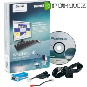 Software Davis Instruments Weather Link Seriell, DAV-6510SER, sériový port
