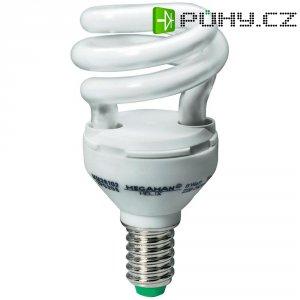 Úsporná žárovka spirálovitá Megaman Helix E14, 11 W, studená bílá