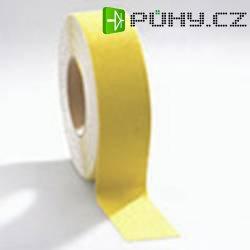 Protiskluzná lepicí páska COBA Europe, 18,3 m x 50 mm, žlutá