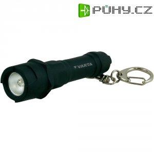 LED svítilna na klíčenku Varta Indestructible, 16701101421, černá