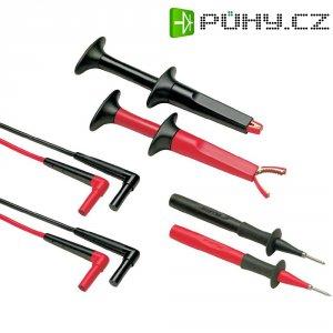 Sada měřicích kabelů banánek 4 mm ⇔ banánek 4 mm Fluke TL220-1, 1,5 m, černá/červená