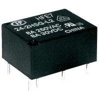 Miniaturní výkonové relé Hongfa HFE7/024-1HDST, 8 A , 277 V/AC , 2000 VA