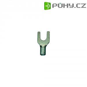 Neizolovaná vidlice kabelu, M4, 0.5 - 1 mm²
