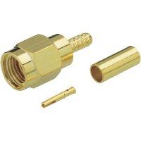 SMA reverzní konektor BKL 409083, 50 Ω, zástrčka, RG 174