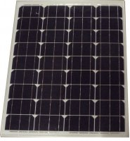 Fotovoltaický solární panel 12V/80W monokrystalický