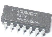 4006 18BIT.stat.posuvný registr, DIL16