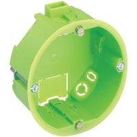 Krabice do dutých zdí Spelsberg, hloubka 35 mm, zelená, 92003501