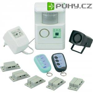 Sada alarmu s PIR a kontakty Basetech, PIR-3312K, 2 zóny
