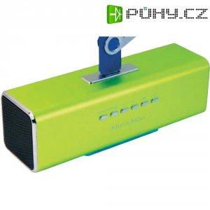 Mobilní sound stanice s displejem Technaxx MusicMan ® MA, zelená