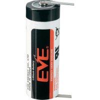 Lithiová baterie Eve, typ A, s kolmými pájecími hroty