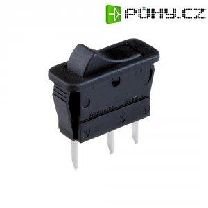 Kolébkový spínač Arcolectric C 1511 VB AAA, 1x zap/(zap), 250 V/AC, 16 A, černá