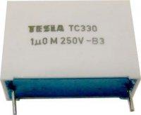 1u/250V TC330, svitkový kondenzátor radiální RM=28mm