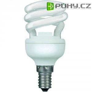 Úsporná žárovka spirálová Narva NT Mini Colourlux Plus E14, 8 W, teplá bílá