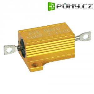 Rezistor ATE Electronics RB10/1-100R-J, 100 Ω, 5 %, axiální vývody, 12 W, 5 %