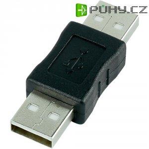 Adaptér USB 2.0, A/A, béžový