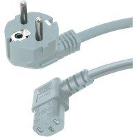 Síťový kabel s IEC zásuvkou Hawa, 1008241, 5 m, šedá