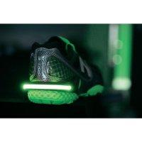Bezpečnostní LED světlo s klipem na botu, zelená