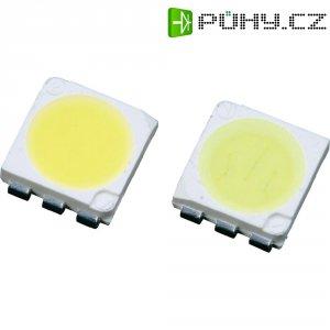 SMD LED PLCC6 Lumimicro, LMTP553WWZ Si, 20 mA, 2,8 V, 120 °, 7500 mcd, teplá bílá