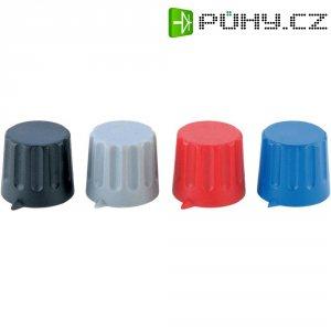 Otočný knoflík s ukazatelem Strapubox POMELLO 20/6 MM BLU, 20/6 mm, 6 mm, modrá