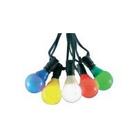 Venkovní párty osvětlení Konstsmide, 4429-500, 20 LED žárovek, barevná