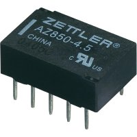 Polarizované relé Zettler Electronics AZ850-12, 1 A 30 V/DC/125 V/AC 30 V/DC/1 A, 125 V/AC/0,5 A