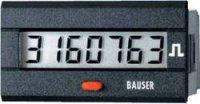 Digitální čítač impulsů Bauser, 3810,3,1,1,0,2, 12 - 24 V/DC, 45 x 22 mm, IP54