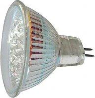 Žárovka LED MR16-21x,bílá,12V,patice GX5,3
